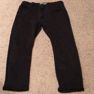 Wrangler black pants, flex straight fit, 36X30